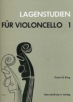 Friedrich Klug - Lagenstudien für Violoncello, Volume 1 - Sheet Music - di-arezzo.co.uk