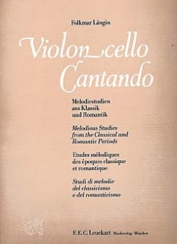 Folkmar Längin - Violoncello Cantando - Sheet Music - di-arezzo.co.uk