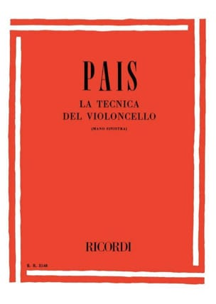 Aldo Pais - The Tecnica Del Violoncello - Sheet Music - di-arezzo.com