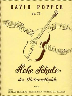 David Popper - Hohe Schule of Violoncellspiels op.73, Heft 2 - Sheet Music - di-arezzo.com