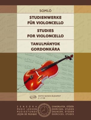 Klara Somlo - Studienwerke for Violoncello - Sheet Music - di-arezzo.co.uk