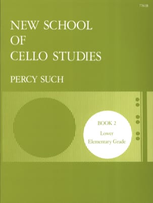 Percy Such - New School Of Cello Studies Volume 2 - Sheet Music - di-arezzo.co.uk
