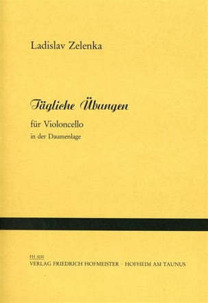 Ladislav Zelenka - Tägliche Übungen - Sheet Music - di-arezzo.co.uk