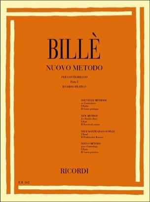 Isaia Billè - New Method of Double Bass Parte 1 Vol.2 - Sheet Music - di-arezzo.co.uk