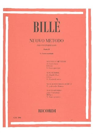Isaia Billè - New bass method, P. 2/5 - Sheet Music - di-arezzo.co.uk