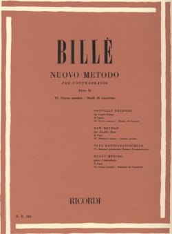 Isaia Billè - New method of contrabass, P. 2/6 - Sheet Music - di-arezzo.co.uk