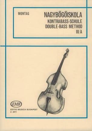 Méthode de contrebasse, Volume 3B Lajos Montag Partition laflutedepan