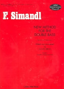 Franz Simandl - New method for the double bass, Volume 1 - Sheet Music - di-arezzo.com