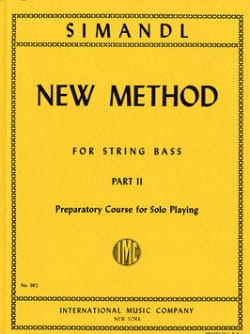 New method for string bass, part 2 Franz Simandl laflutedepan