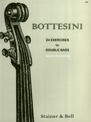 Giovanni Bottesini - 24 Exercises for Double bass - Sheet Music - di-arezzo.co.uk
