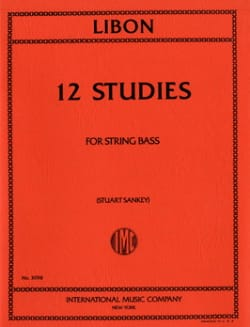 Philippe Libon - 12 Studies - String Bass - Partition - di-arezzo.fr