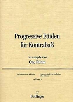 Otto Rühm - Progressive Etüden für Kontrabass, Heft 3 - Partition - di-arezzo.fr