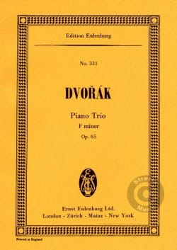 DVORAK - Klavier-Trio F-Moll, Op. 65 - Sheet Music - di-arezzo.co.uk