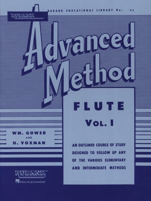 Advanced Method Volume 1 - Flute Gower W. / M.Voxman H. laflutedepan