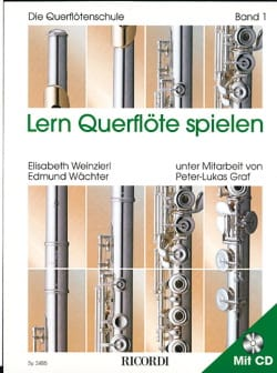 Weinzierl Elsabeth / Wachter Edmund - Lern Querflöte spielen - Bd. 1 - Sheet Music - di-arezzo.co.uk