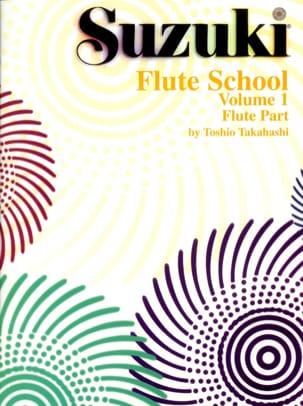 Flute School - Volume 1 - Flute Part SUZUKI Partition laflutedepan