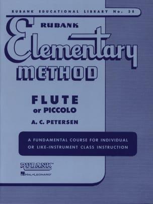 Elementary method – Flute or piccolo - laflutedepan.com