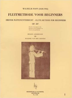 Fluitmethode voor beginners - Volume 1 Wilhelm Popp laflutedepan