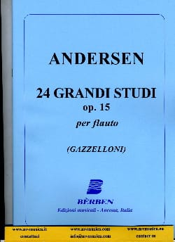 Joachim Andersen - 24 Grandi studi op. 15 - Sheet Music - di-arezzo.co.uk