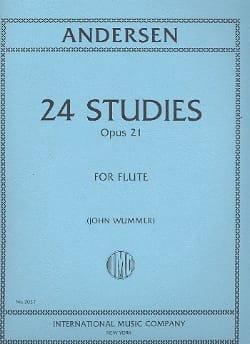 24 Studies op. 21 - Joachim Andersen - Partition - laflutedepan.com