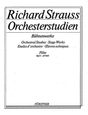 Richard Strauss - Orchesterstudien Bühnenwerke - Bd. 3 - Partition - di-arezzo.fr