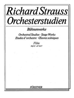 Orchesterstudien Bühnenwerke - Bd. 2 Richard Strauss laflutedepan