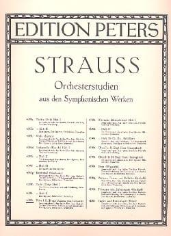 Orchesterstudien - Flöte Richard Strauss Partition laflutedepan