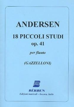 Joachim Andersen - 18 Piccoli studi op. 41 - Partition - di-arezzo.fr