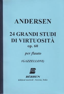 Joachim Andersen - 24 Grandi Studi di virtuosita op. 60 - Sheet Music - di-arezzo.co.uk