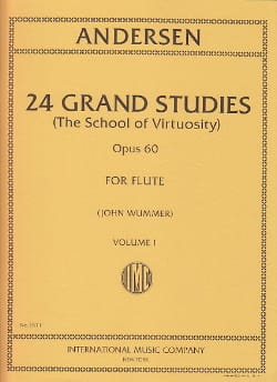 Joachim Andersen - 24 Grand studies - Volume 1 School of virtuosity op. 60 - Sheet Music - di-arezzo.co.uk