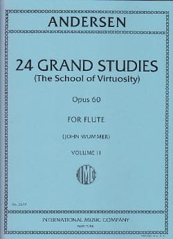 24 Grand studies - Volume 2 School of virtuosity op. 60 laflutedepan