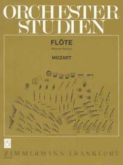 Orchesterstudien - Flöte - MOZART - Partition - laflutedepan.com