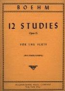 Theobald Boehm - 12 Studies op. 15 - Sheet Music - di-arezzo.com