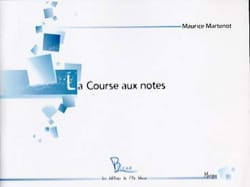 Maurice Martenot - The Notes Race - Treble clef - Sheet Music - di-arezzo.com