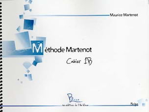 Maurice Martenot - Martenot Method - Booklet 1B - Sheet Music - di-arezzo.com