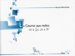 Ariane Martenot - The Notes Race - Treble clef and Key of Fa - Sheet Music - di-arezzo.com