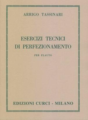 Arrigo Tassinari - Esercizi Tecnici di Perfezionamento - Sheet Music - di-arezzo.co.uk