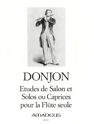 Donjon Johannes / Donjon François - Salon Studies and Solos or Caprices - Flute - Sheet Music - di-arezzo.com