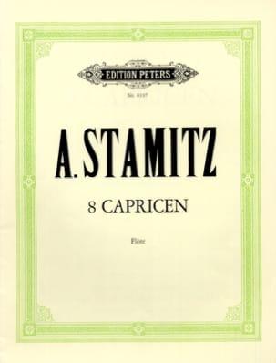 Anton Stamitz - 8 Capricen - Flöte - 楽譜 - di-arezzo.jp