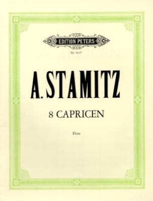 8 Capricen - Flöte - Anton Stamitz - Partition - laflutedepan.com