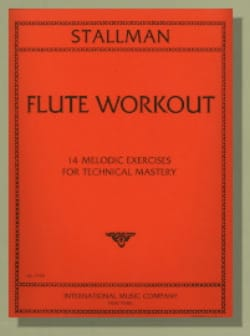 Robert Stallman - Flute Workout - Partition - di-arezzo.fr
