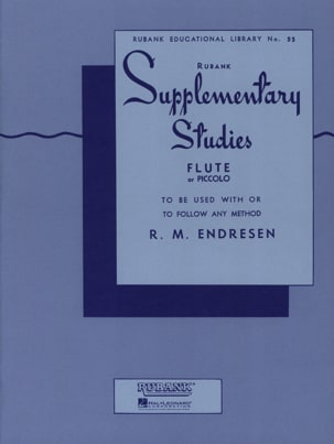 R.M. Endresen - Rubank Supplementary Studies - Flûte - Partition - di-arezzo.fr
