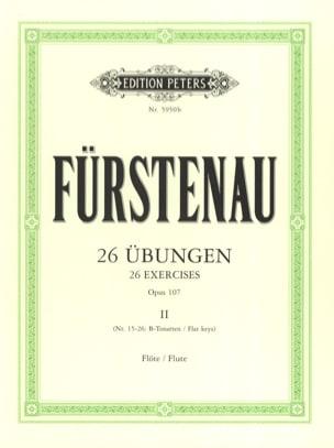 Anton Bernhard Fürstenau - 26 Übungen op. 107 - Bd. 2 - Sheet Music - di-arezzo.com