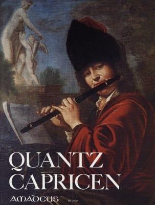 Johann Joachim Quantz - Capricen - Flöte - Sheet Music - di-arezzo.co.uk