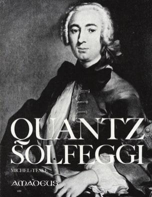 Johann Joachim Quantz - Solfeggi - Flöte - Partition - di-arezzo.fr