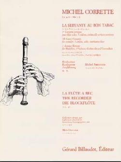Michel Corrette - The maid to the good tobacco - Partition parts - Sheet Music - di-arezzo.com