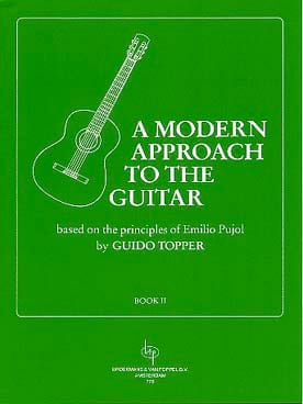 Guido Topper - A Modern Approach To The Guitar Volume 2 - Partition - di-arezzo.fr