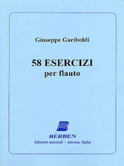 Giuseppe Gariboldi - 58 Esercizi - Partition - di-arezzo.fr