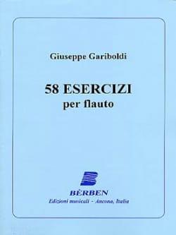 58 Esercizi - Giuseppe Gariboldi - Partition - laflutedepan.com