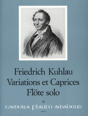 Friedrich Kuhlau - Variations and Caprices op. 10 - Solo flute - Sheet Music - di-arezzo.co.uk